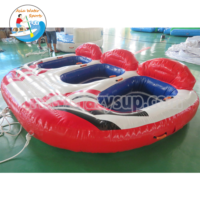 Hot Inflatable Flying Towable Ski Tube Inflatable Boat For Water Sport Games